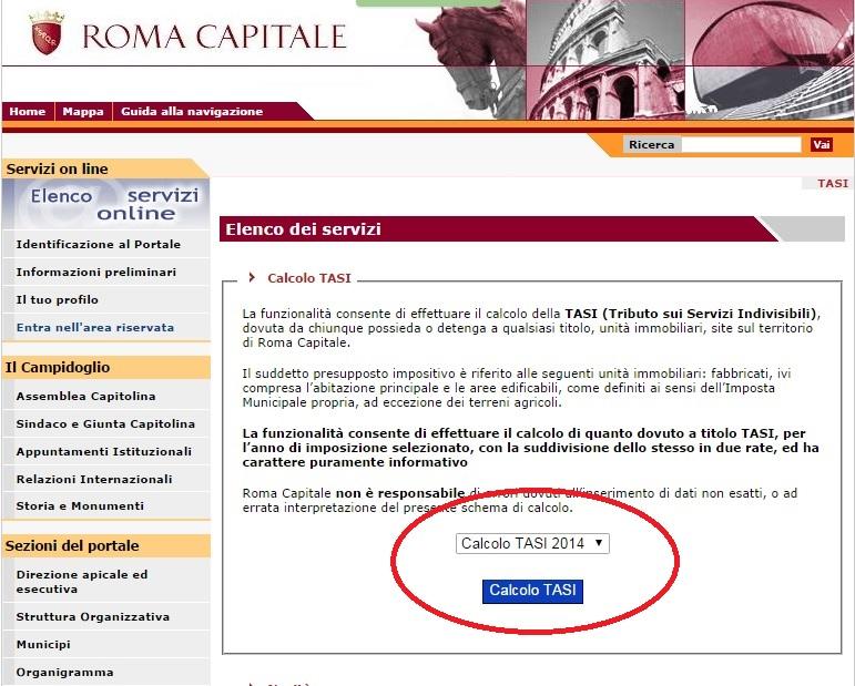 Habla con gian oggi scade il termine per pagare l 39 acconto for Aliquota tasi roma