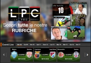 Casertana-Lupa Roma: diretta streaming su Sportube.tv, ecco come vederla