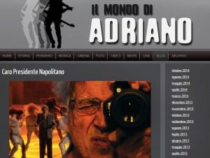 """Adriano Celentano, lettera a Napolitano: """"Grazia per Fabrizio Corona"""""""