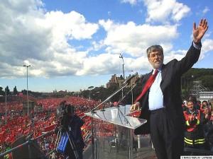 """Articolo 18. Sergio Cofferati invoca il """"muro in Parlamento"""" contro il jobs act"""