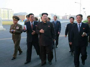 il leader Kim Jong-un