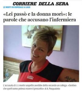 Guarda la versione ingrandita di Daniela Poggiali, infermiera di Lugo nega: