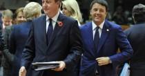 Renzi-Cameron  Sfida all'Europa  Basta richieste  assurde adesso
