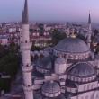 Drone sfiora il minareto della moschea blu di Istanbul e si schianta