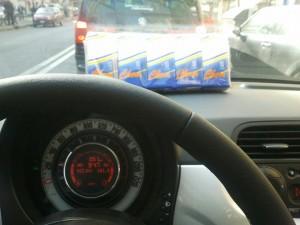 Grosseto: ruba fazzoletti di carta da auto aperta. Sarà processato