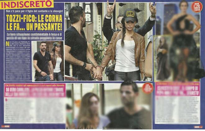 Raffaella Fico passeggia, passante fa le corna e il fidanzato si arrabbia