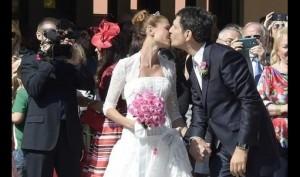 Fabrizio Frizzi e Carlotta Mantovan sposi a Roma
