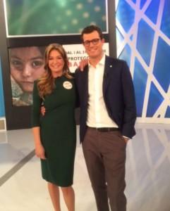 Dagospia: Tessa Gelisio da Federica Panicucci. Abito verde, rischio che...