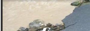 Alluvione Genova, a Struppa esonda il Rio Torbido: frana la strada