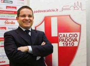 """Calcio Padova, ex dg Gianluca Sottovia reintegrato: """"Art.18 vale anche per club"""""""