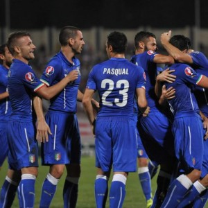 Video gol e pagelle. Malta-Italia 0-1: Graziano Pellè segna all'esordio