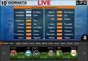 Grosseto-Spal: diretta streaming su Sportube.tv, ecco come vederla