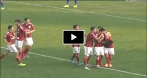 "Hachim Mastour video gol con ""ruleta"" in Milan-Sassuolo 2-0 (Primavera)"
