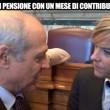 Le Iene, Nadia Toffa: pensioni d'oro sindacalisti e legge Treu 564 VIDEO