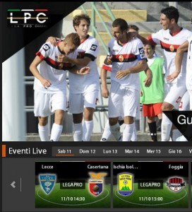 Ischia-Foggia: diretta streaming su Sportube.tv, ecco come vederla