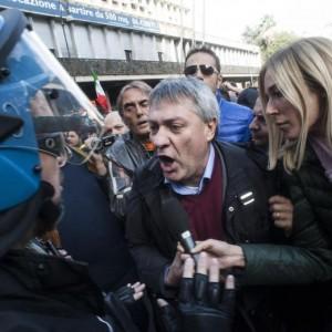 """Maurizio Landini: """"Basta slogan del cazzo, hanno rotto le palle con Leopolda"""" VIDEO"""