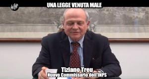 """Le Iene, Nadia Toffa e Tiziano Treu: """"Legge 564 venuta male"""" VIDEO"""