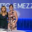 """Lilli Gruber torna a Otto e Mezzo: """"Grazie a Giovanni Floris"""" FOTO-VIDEO"""
