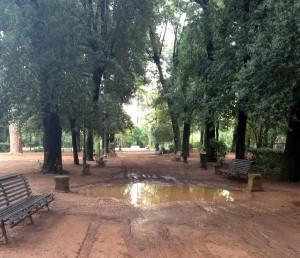Nubifragio a Roma: strade allagate, chiusa una corsia del Raccordo Anulare