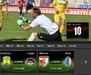 Mantova-Pavia: diretta streaming su Sportube.tv, ecco come vederla