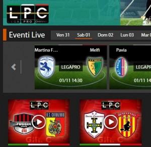 Martina Franca-Melfi: diretta streaming su Sportube.tv, ecco come vederla