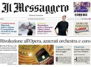 Teatro dell'Opera, Marino licenzia. Ajello: gesto coraggioso. Merlo: populismo