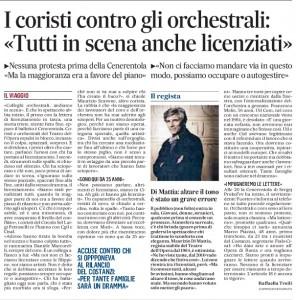 Teatro dell'Opera di Roma: cosa dicono i licenziati. Coristi contro orchestrali