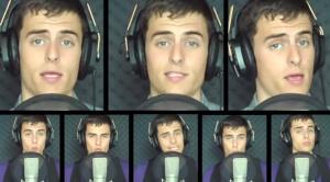Mike Tompkins riproduce con la bocca tutti i suoni: star su YouTube da 25 mln di clic