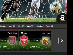 Monza-Lumezzane: diretta streaming su Sportube.tv, ecco come vederla