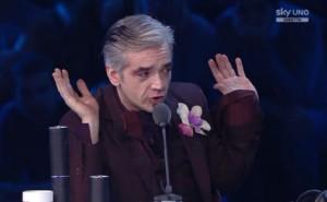 """X Factor 8, Morgan lascia studio: """"Complotto contro di me, scenografie di merda"""""""
