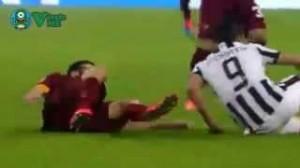 Juventus-Roma 3-2. Video rissa, espulsi Manolas e Morata
