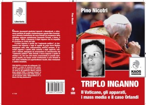 "Emanuela Orlandi. ""Triplo inganno"" di Pino Nicotri, esaurito e ristampa"