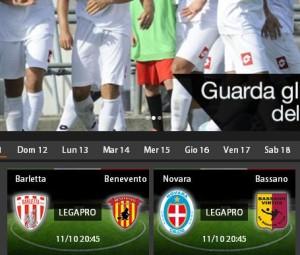 Novara-Bassano: diretta streaming su Sportube.tv, ecco come vederla
