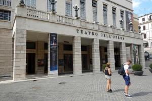 Guarda la versione ingrandita di Il teatro dell'Opera di Roma (foto Lapresse)