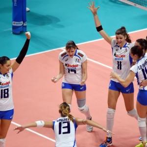 Mondiali di Pallavolo: Italia-Russia 3-1. Ora semifinale con la Cina