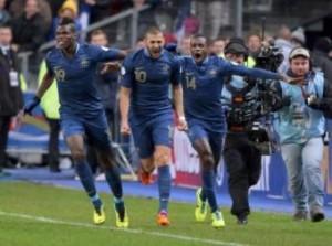Paul Pogba video gol in Francia-Portogallo 2-1