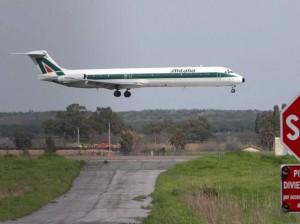 Nubifragio a Roma, a Fiumicino aerei dirottati su altri scali