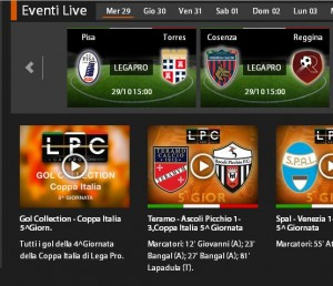 Pisa-Torres: diretta streaming su Sportube.tv, ecco come vederla