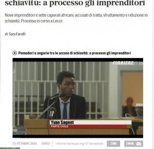 Pomodori, angurie e schiavitù: a Lecce processo a caporali e imprenditori
