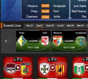 Prato-Forlì: diretta streaming su Sportube.tv, ecco come vederla