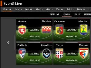 Pro Patria-Giana Erminio: diretta streaming su Sportube.tv, ecco come vederla