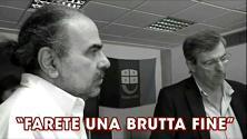 """Burlando al giornalista di Primocanale: """"Farete una brutta fine"""". La tv lo querela VIDEO"""