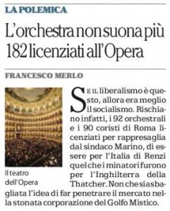 """Vincenzo Vita sul Manifesto: """"Il Mostro dell'Opera"""""""