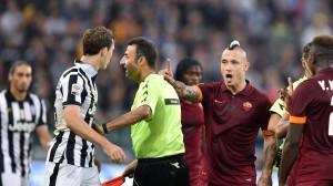 Juventus-Roma 3-2. Tre rigori, due espulsi, un arbitro protagonista