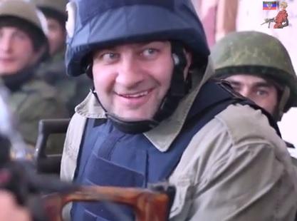 Ucraina: Mikhail Porechenkov, famoso attore russo in trincea con i ribelli VIDEO