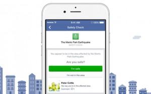 """Facebook mette il tasto """"Sto bene"""" in caso di catastrofi naturali"""