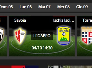 Savoia-Ischia, diretta streaming su Sportube.tv, ecco come vederla