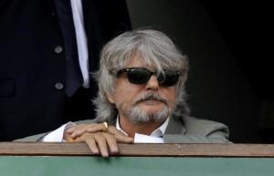 """Massimo Ferrero: """"Sampdoria-Roma? Tre gol e saluti a tutti"""""""