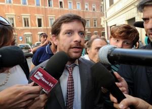 """Corteo Sel a Roma, in pizza contro l'articolo 18: """"Fate il lavoro, non la crisi"""""""