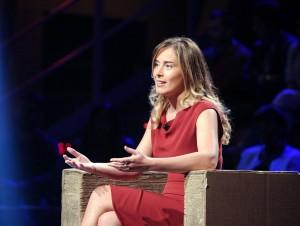 """Maria Elena Boschi a Ballarò: """"Io sono di sinistra e anticipo il futuro"""" VIDEO"""
